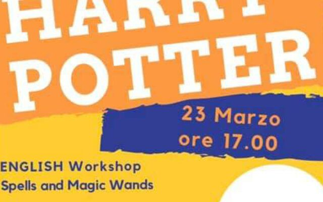 Harry Potter - Workshop Esperienziale - Play with Gaby - Fun Learning English Roma