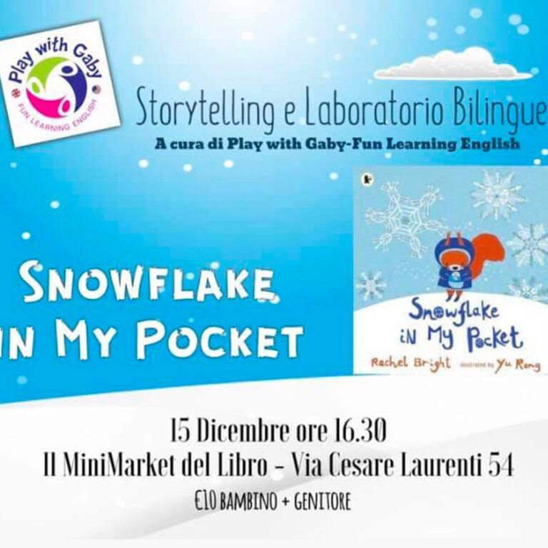 Snowflakes - Play with Gaby - Fun Learning English Roma