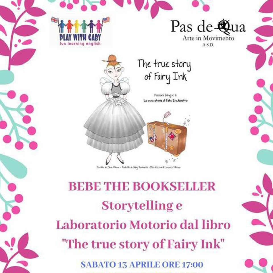 The true story of Fairy Ink - Storytelling - Play with Gaby - Fun Learning English Roma